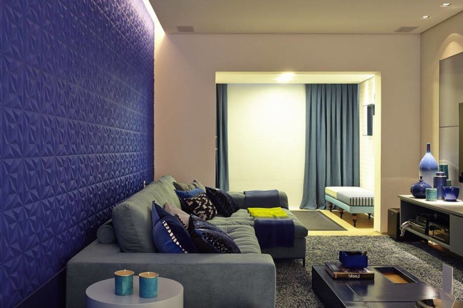Modern Apartment in Sao Paulo - living room 3