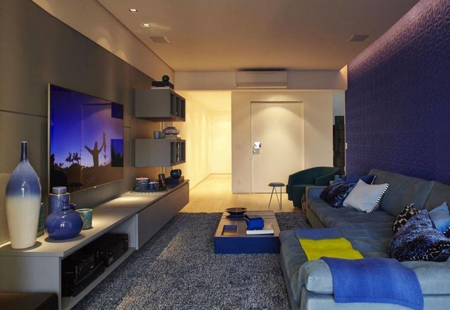 Modern Apartment in Sao Paulo - living room 5