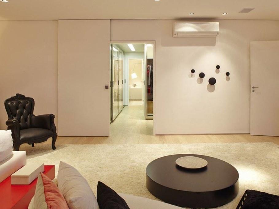 Modern Apartment in Sao Paulo - living room 6
