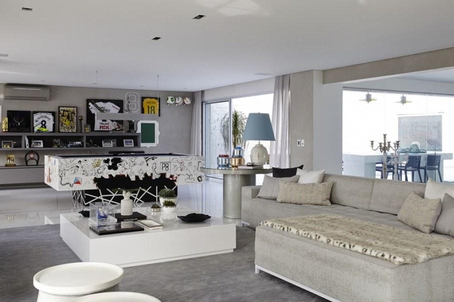 Modern Apartment in Sao Paulo - living room
