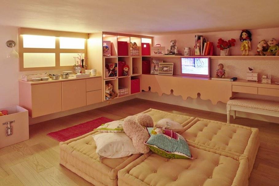 Modern Apartment in Sao Paulo - nursery living room