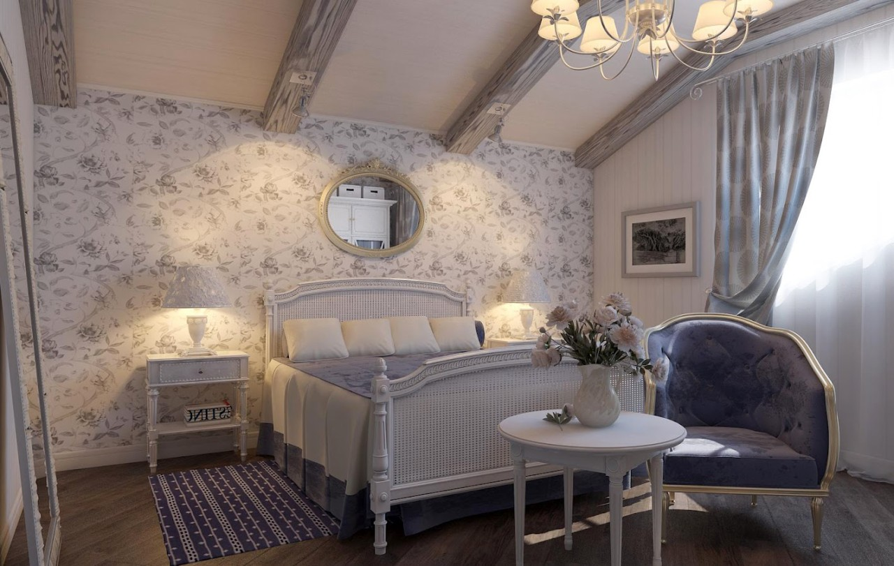 Choose furniture in the style of Provence