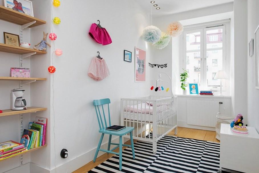 Scandinavian style interior design - children room