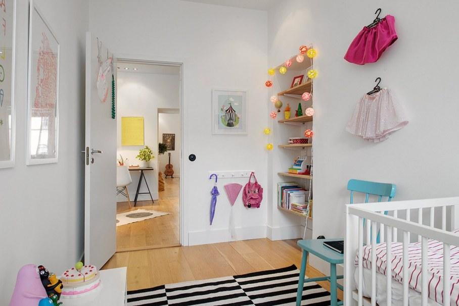 Scandinavian style interior design - kids room