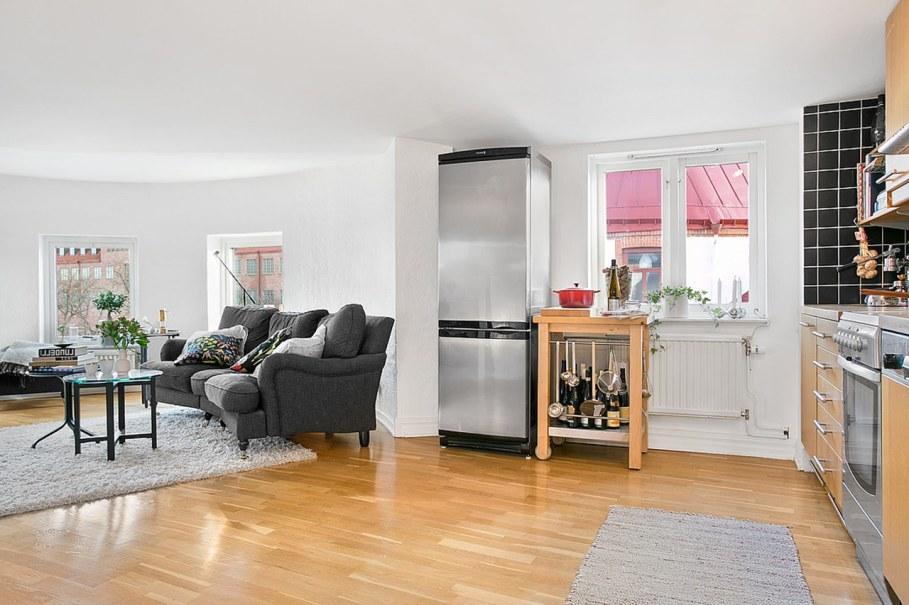 Scandinavian style interior design - kitchen