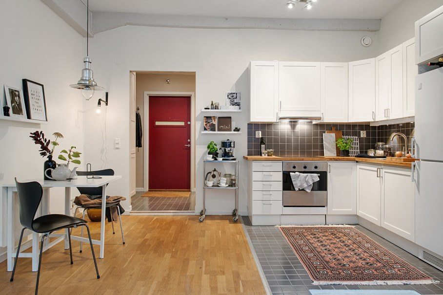 Scandinavian style interior design - kitchen design