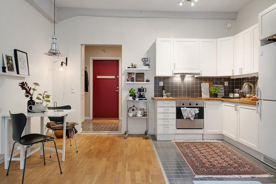 Scandinavian style interior design - kitchen design