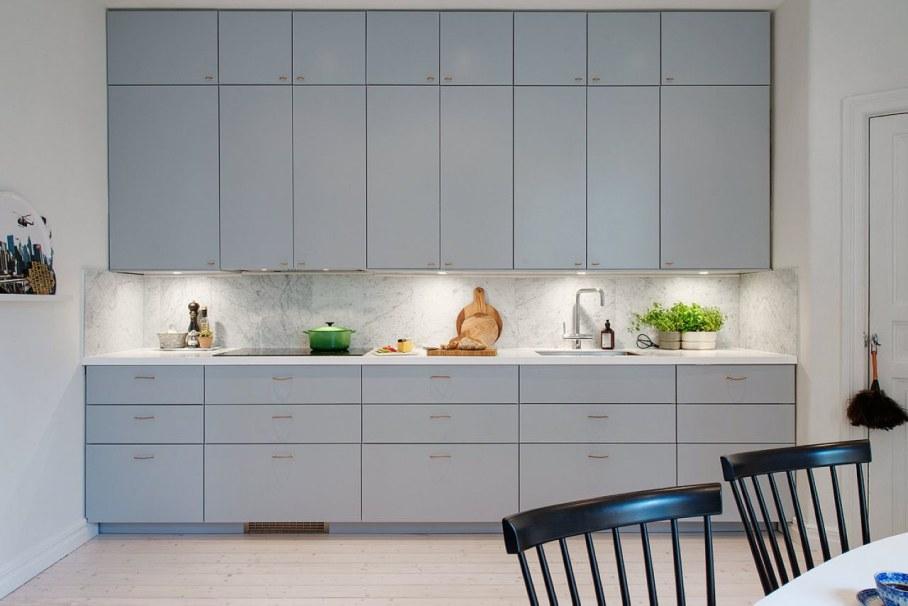 Scandinavian-style kitchen design