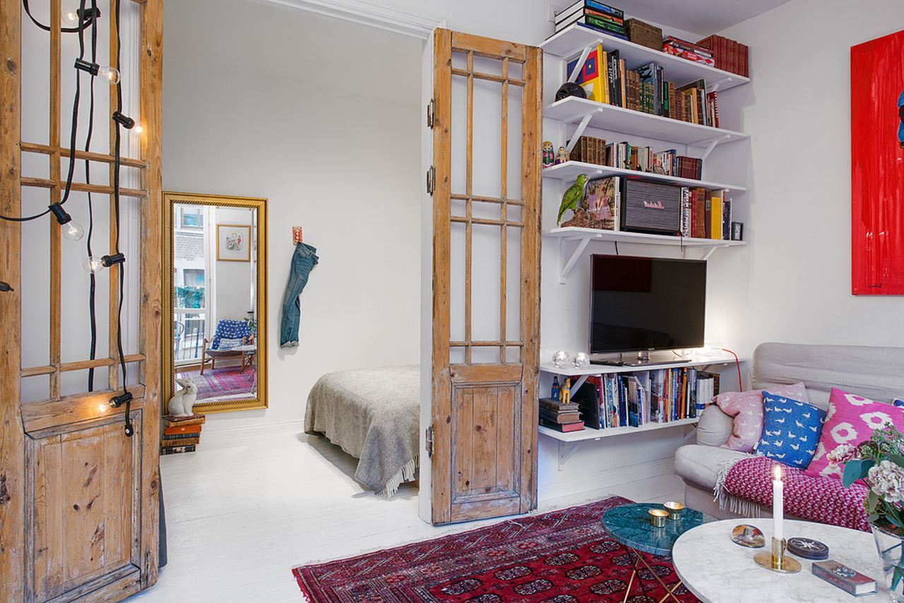 Small Swedish Apartment As An Example Of Scandinavian Style