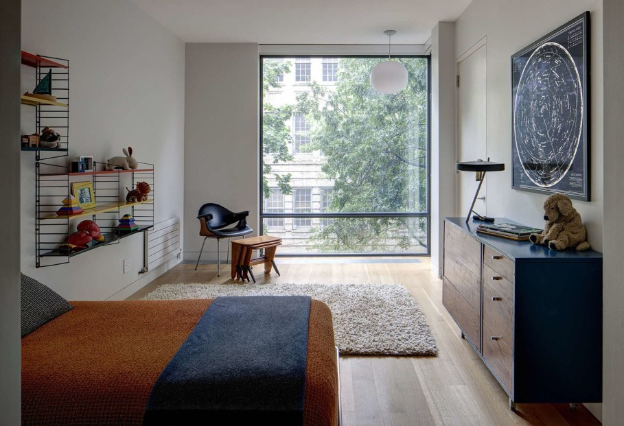 Stylish Townhouse Interior in New York - nursery bedroom