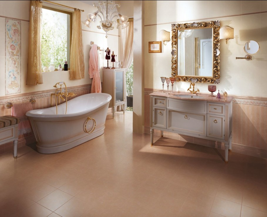 Renaissance style interior design ideas for Bathroom decor styles