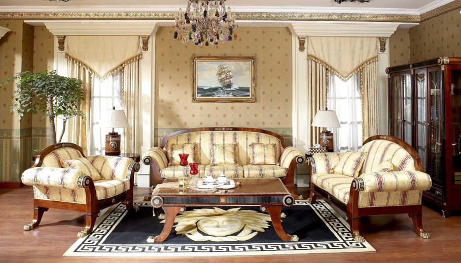 The Renaissance Style - Living room