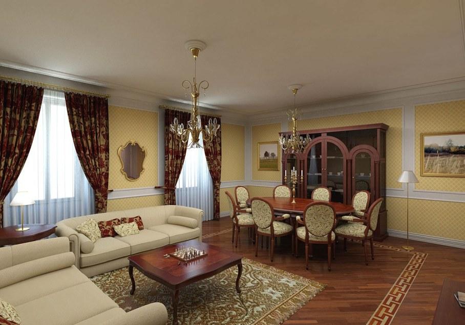 The Renaissance Style - Living room Design Ideas
