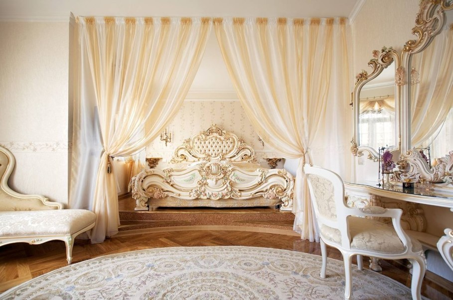 The Rococo Style - Luxury Bedroom design