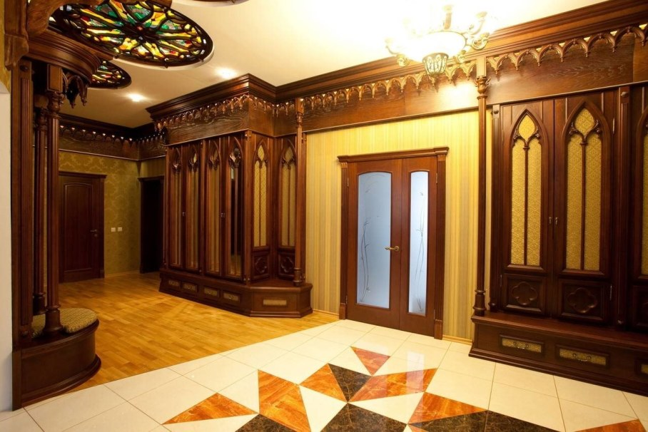 The Romanesque Style - Hall design ideas