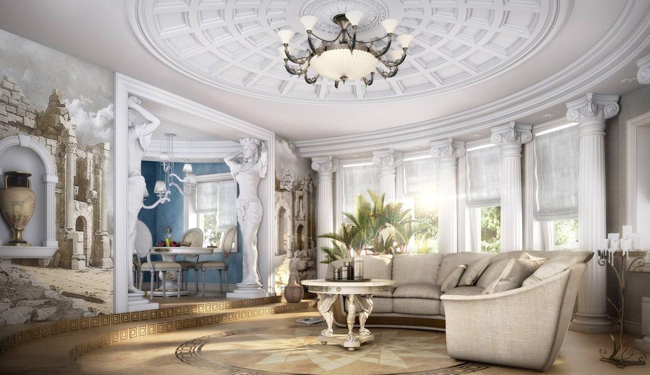 Interior Design Ideas: Romanesque Style Interior Design Ideas