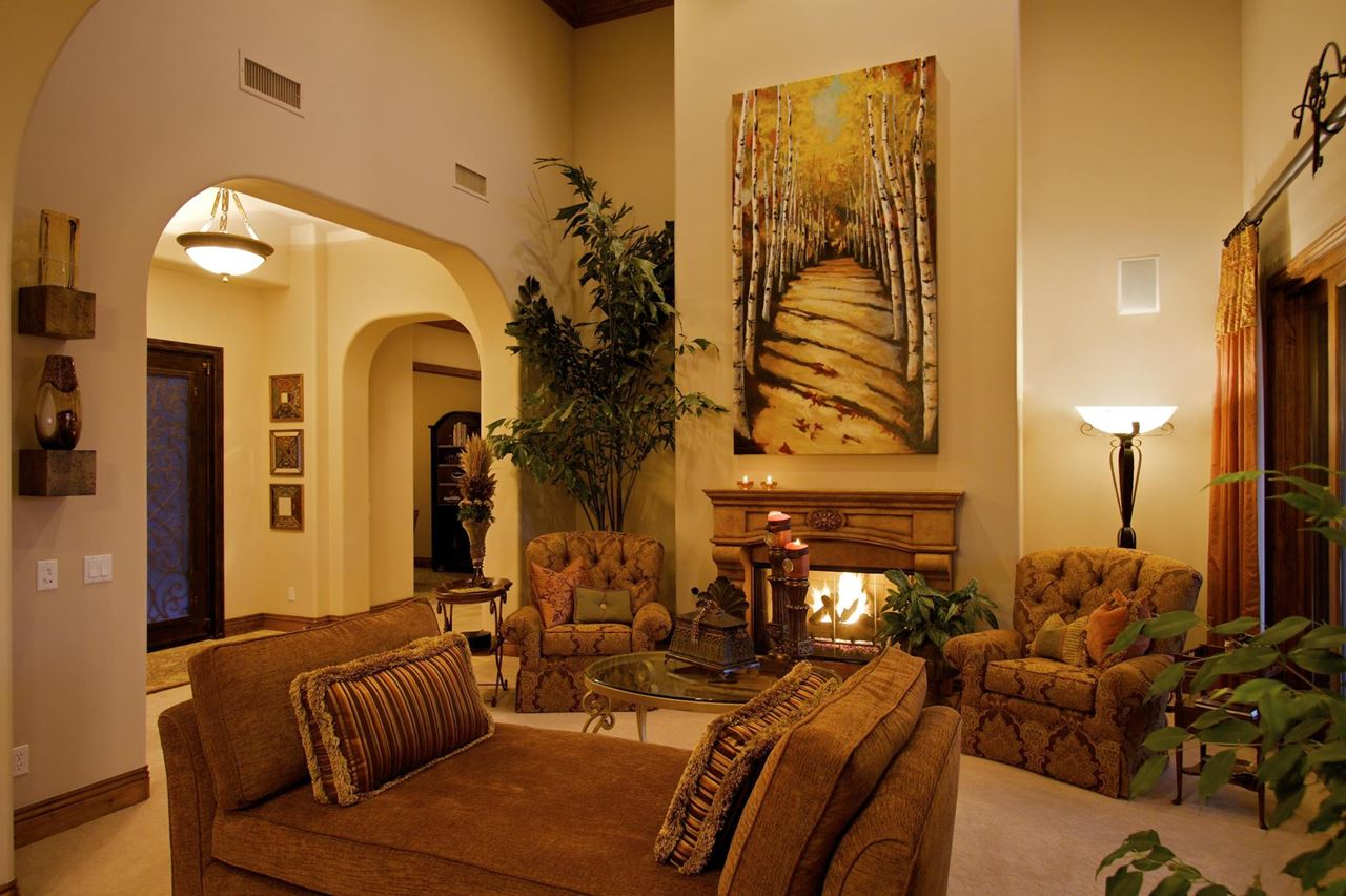 Interior Design Ideas For Living Rooms: Tuscan Decor For Your Interior Design