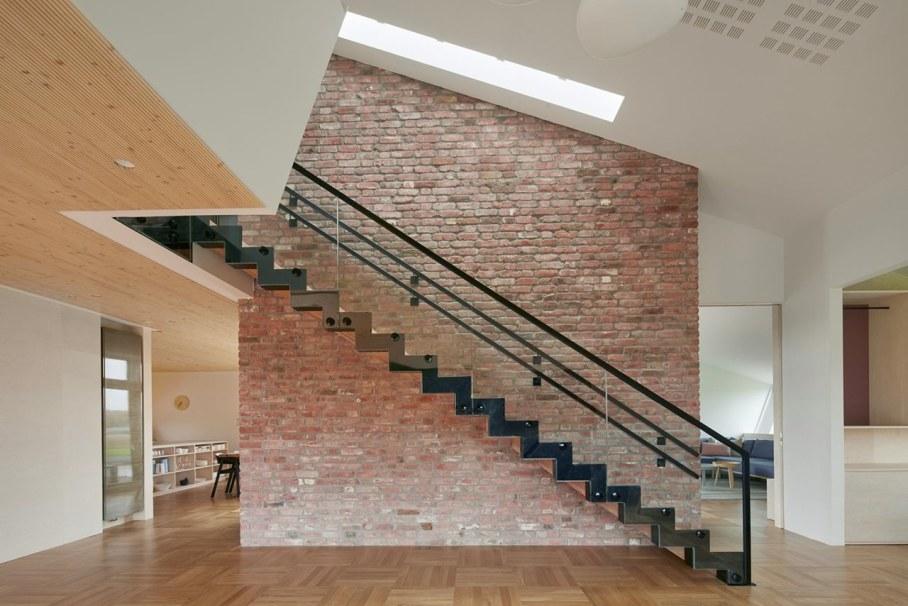 ZEB Pilot House - staircase