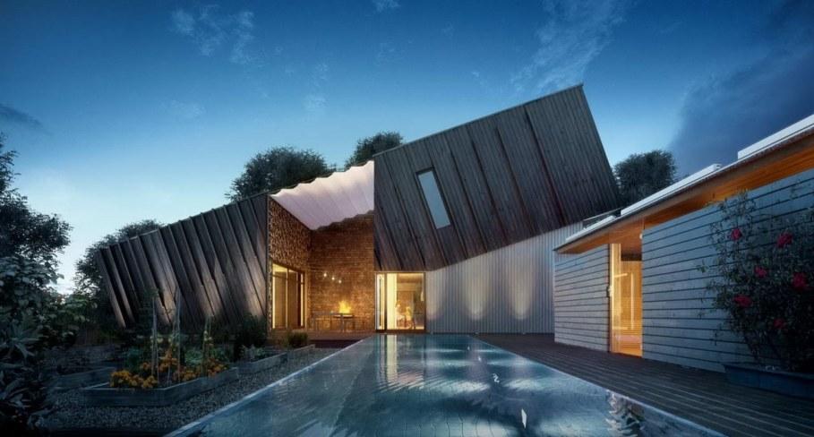 ZEB Pilot House - swimming pool