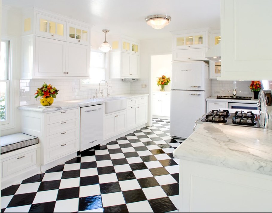 kitchen in a retro style 2
