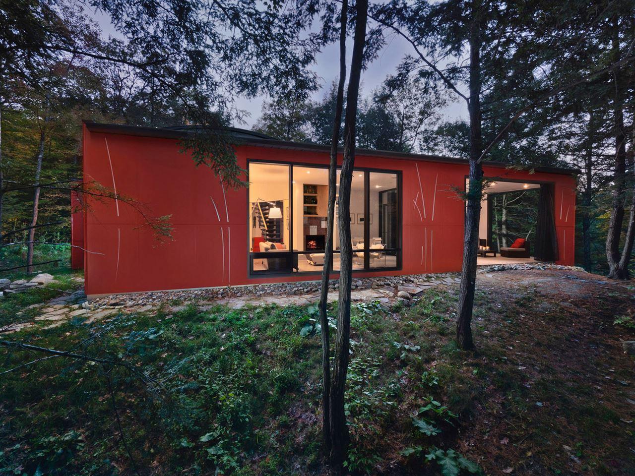 A Small Cottage In Canada Design Ideas