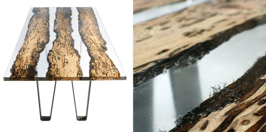 Bricola - Furniture and Accessories from Alcarol - chimenti table