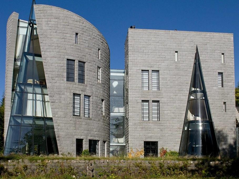 Corrour lodge - facade
