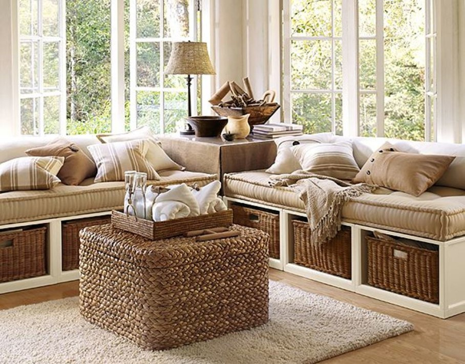 Creating Attracting Look by Decorating with Burlap - Decorating Ideas