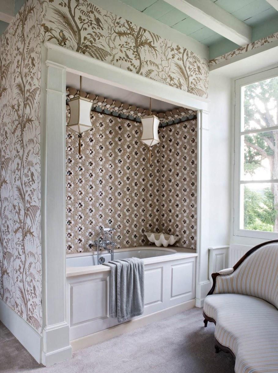 Eclectic house - bathroom