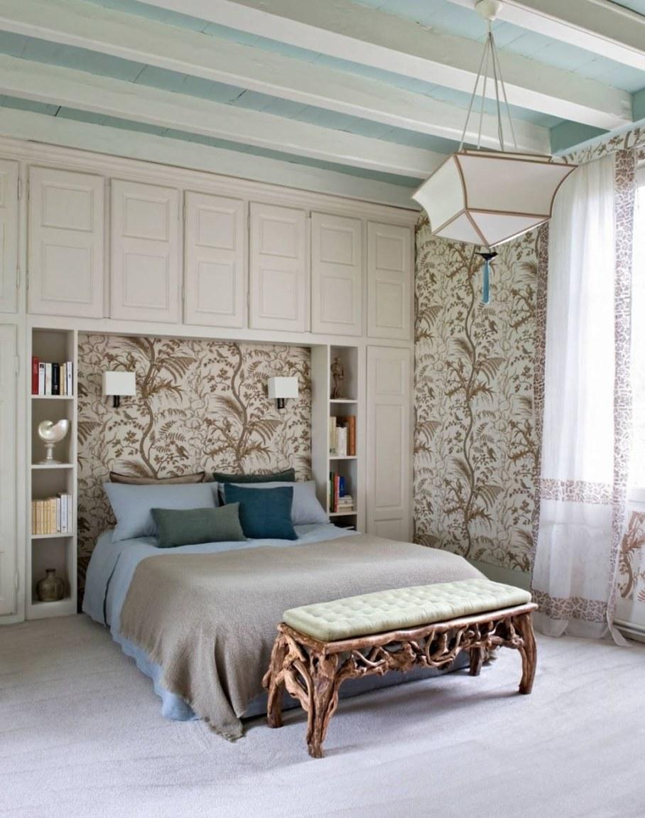 Eclectic house - bedroom