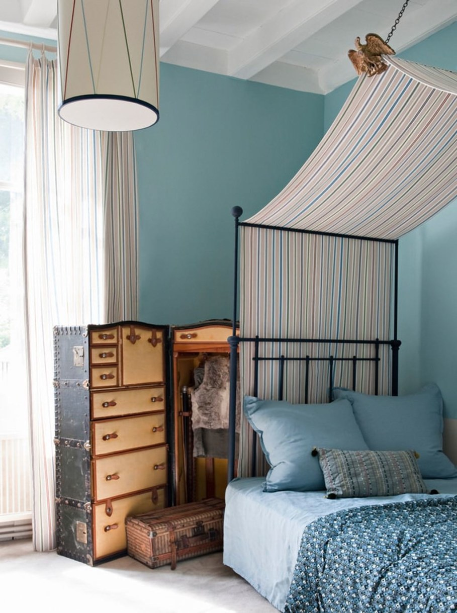Eclectic house - first guest bedroom