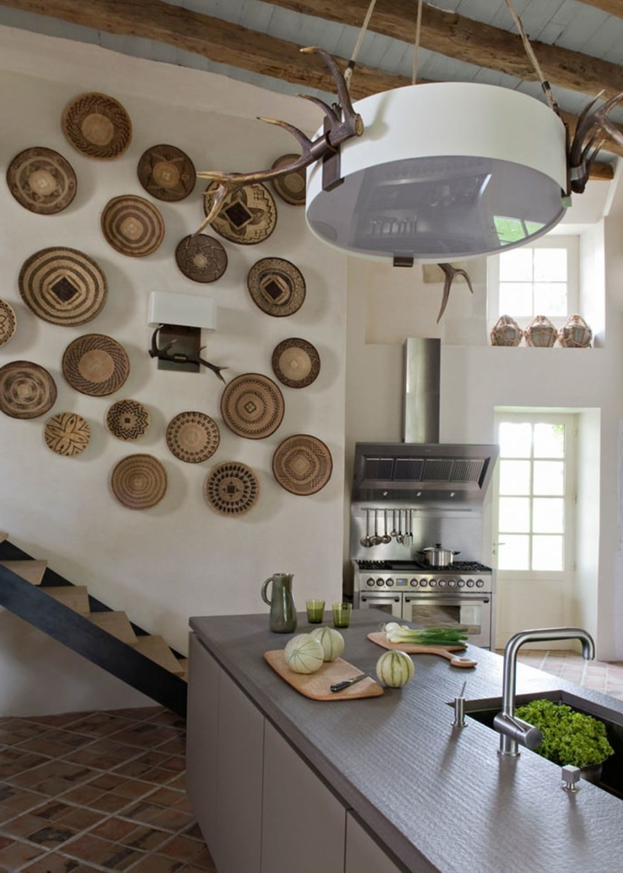 Eclectic house - kitchen