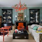 Eclectic house: mixture of coziness and comfort