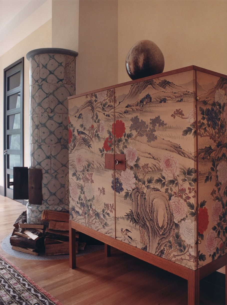 Highland Lodge - Orientalist Cupboard and Stove