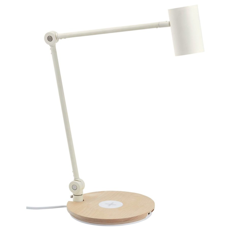 IKEA Wireless-Charged Furniture - Riggad Lamp