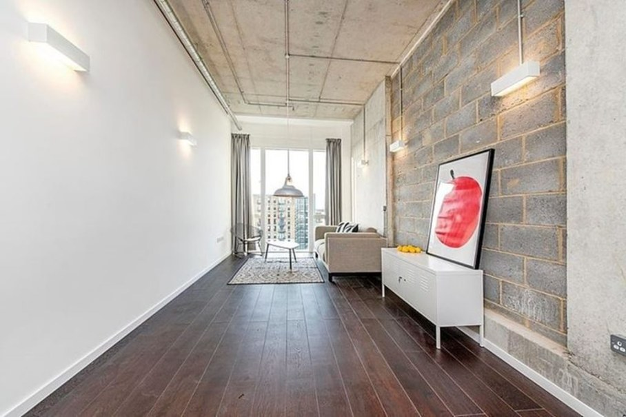 Industrial style London apartment - is perfect for young families and single men