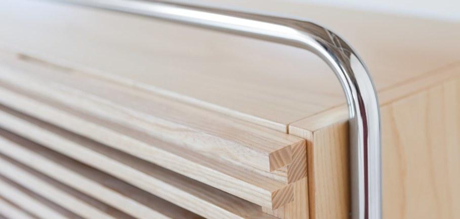 Marcel Sideboard - Case wood blockboard ash with natural oil finish