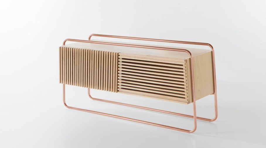 Marcel Sideboard - Copper and Wood