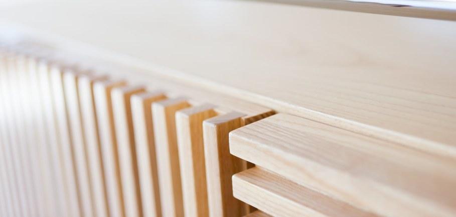 Marcel Sideboard - steel and wood