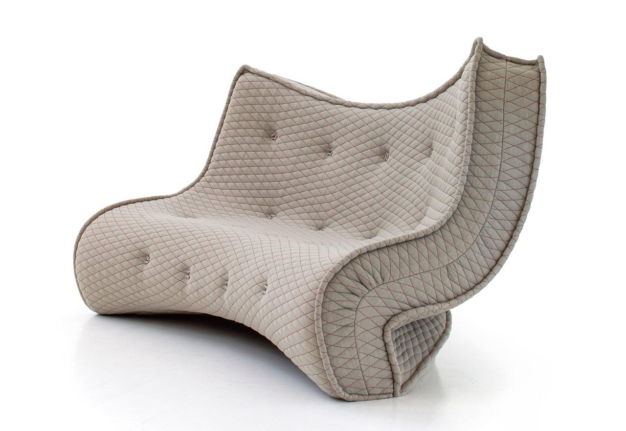 Sensational Matrizia Sofa By Ron Arad Bralicious Painted Fabric Chair Ideas Braliciousco