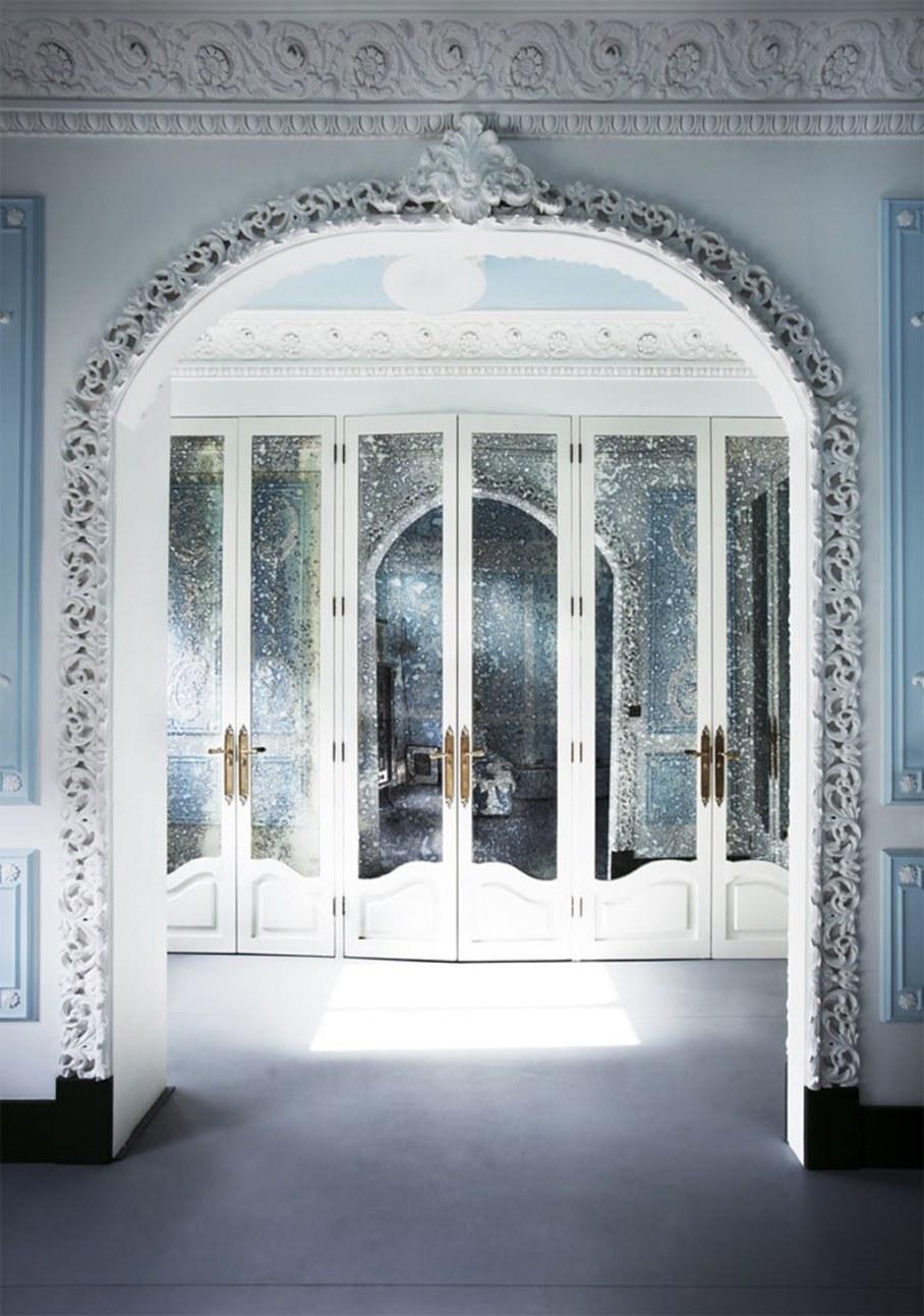 Mediterranean Interior of London Apartment - Decorating ideas