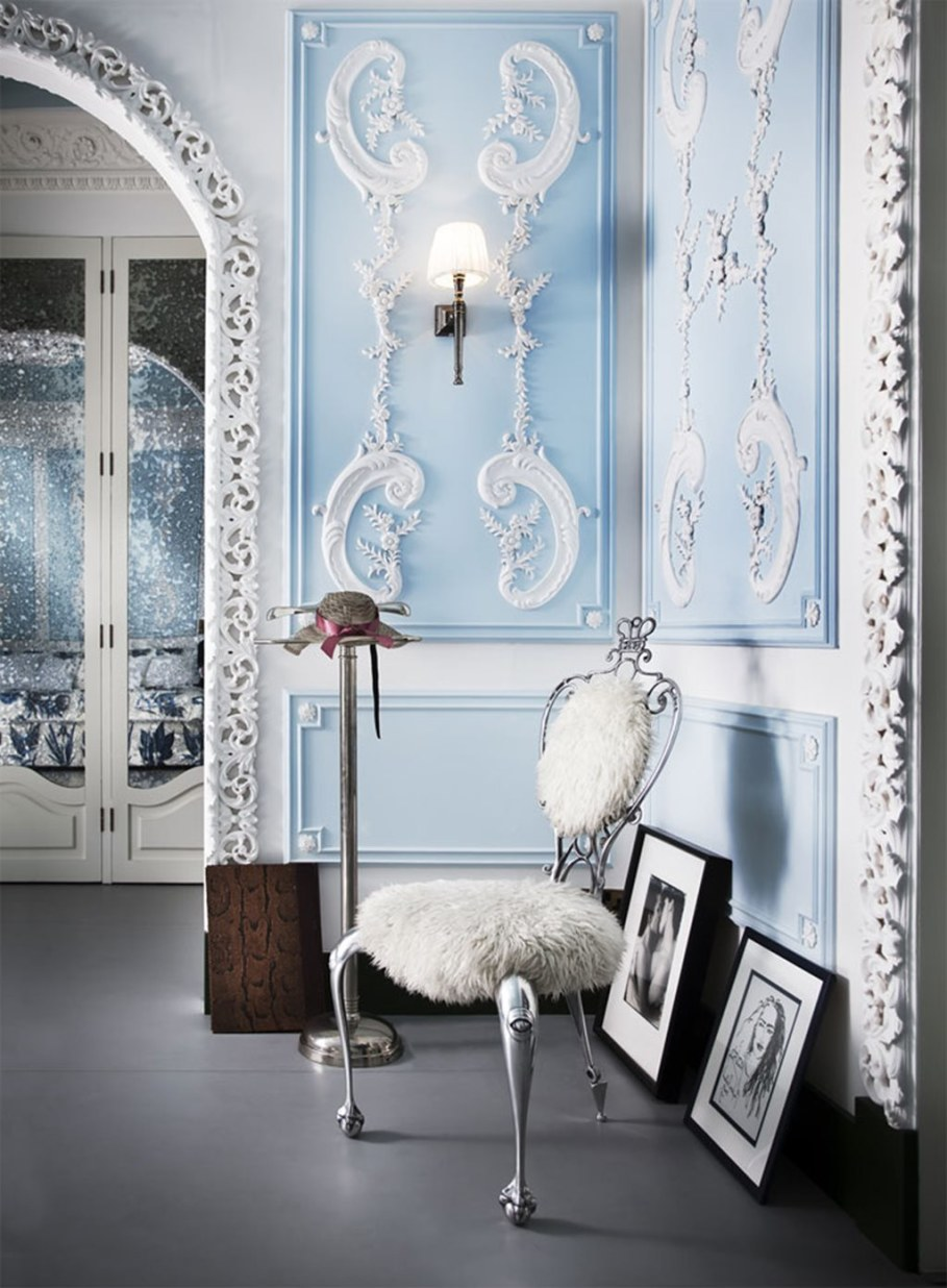 Mediterranean Interior of London Apartment - Design ideas