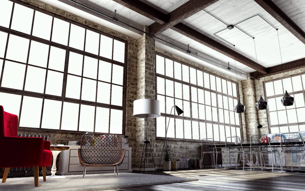 Interior: How To Create A Modern Interior In Loft-style