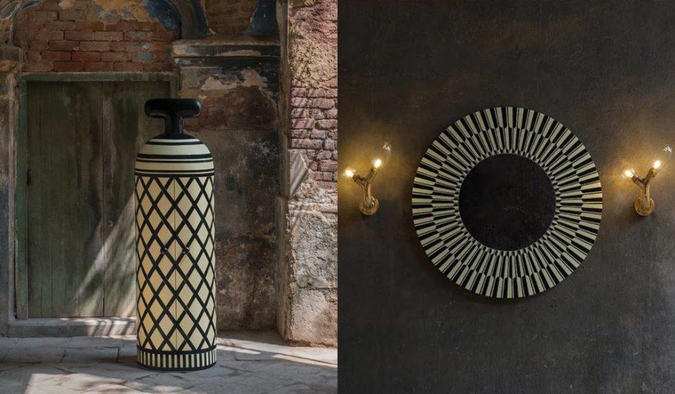 Monsieur Verdoux cellaret and City Lights mirror