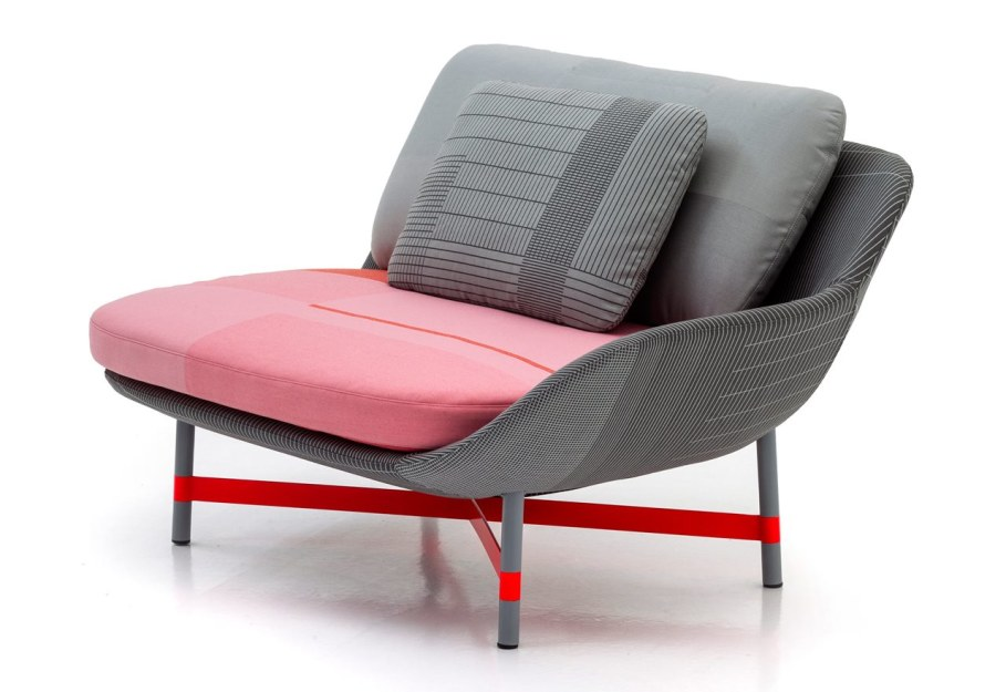 New Collection From Moroso - armchair Ottoman 2