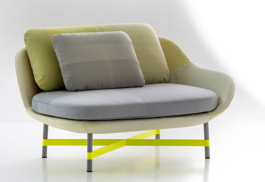 New Collection From Moroso - armchair Ottoman 3
