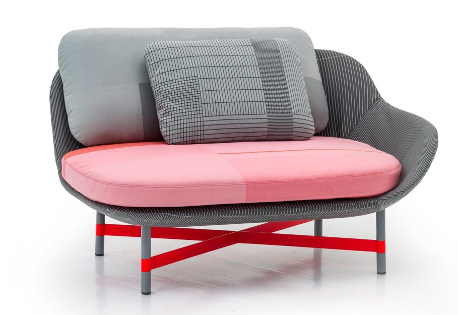 New Collection From Moroso - armchair Ottoman