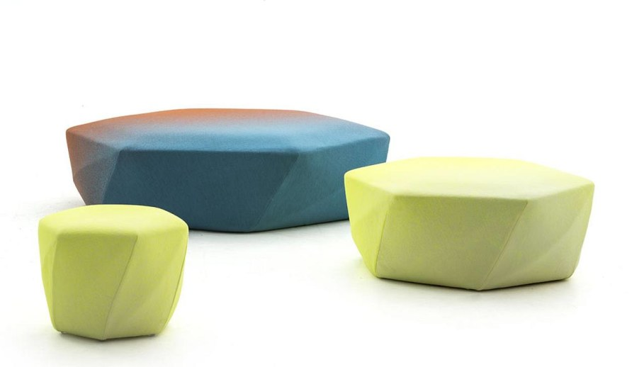New Collection From Moroso - ottoman Brook