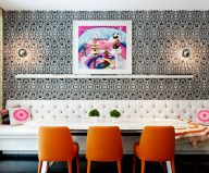 Eclecticism in interior design: New York townhouse in a mixed style