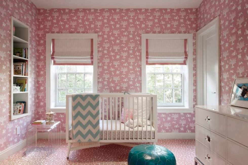 New York townhouse in a mixed style - childrens room